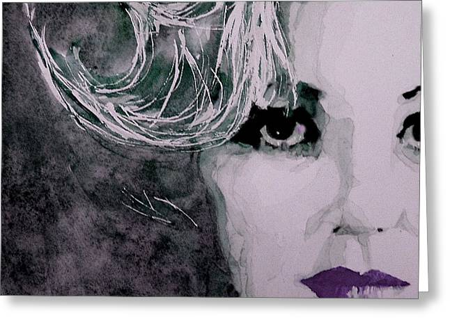 Marilyn No9 Greeting Card by Paul Lovering