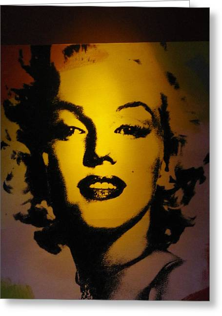 Norma Jean Photographs Greeting Cards - Marilyn Greeting Card by Shawn Hughes