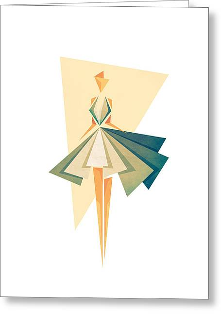 Fashions Greeting Cards - Marilyn Greeting Card by VessDSign