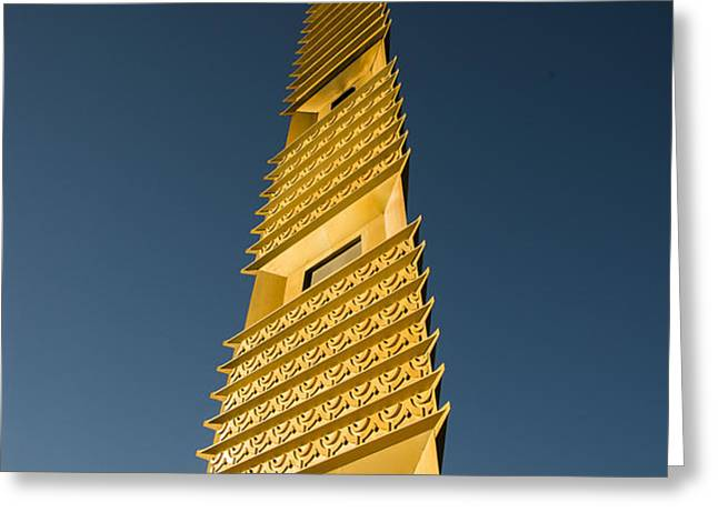 Marin County Civic Center Tower Greeting Card by David Bearden