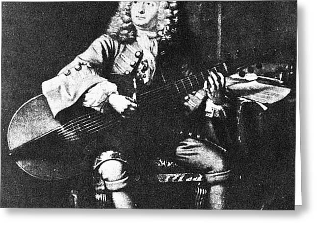 Marin Marais (1656-1728) Greeting Card by Granger