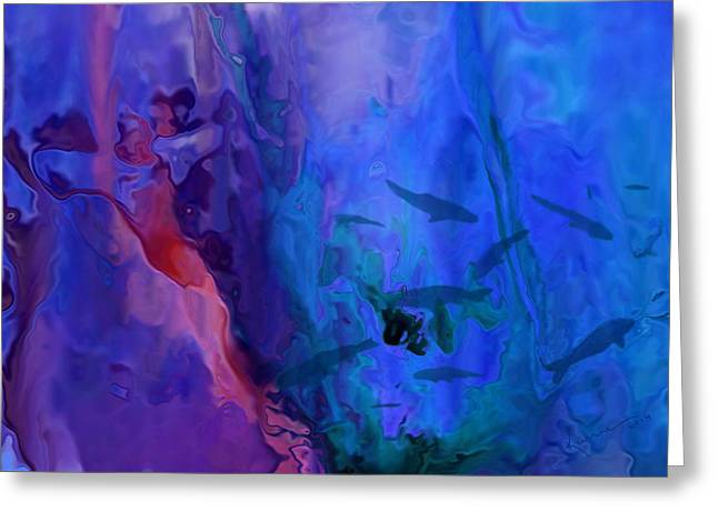 Water In Caves Greeting Cards - Marine Life Greeting Card by Kume Bryant