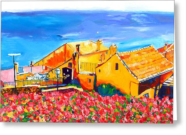 Southern France Greeting Cards - Marine-Oceane Greeting Card by Vel Verrept