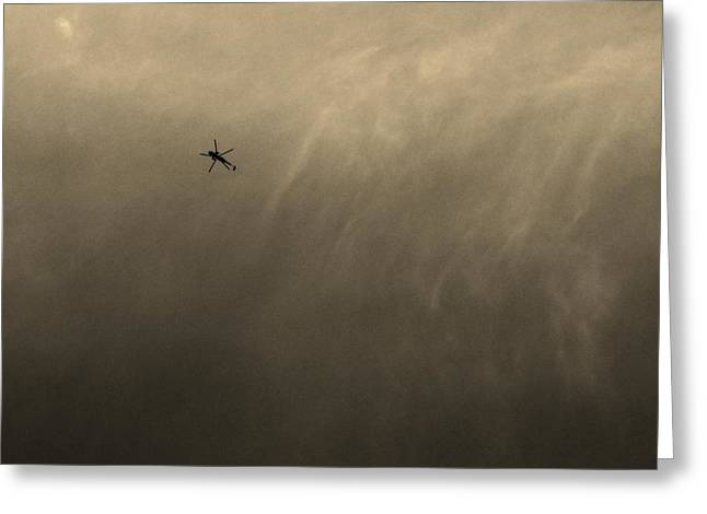 Detachment Greeting Cards - Marine One Greeting Card by Robert Geary