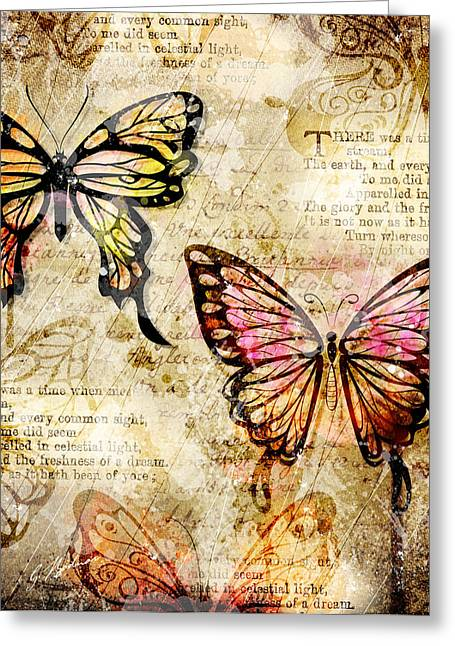 Blooms Butterflies Greeting Cards - Mariposa Equinox Greeting Card by Gary Bodnar