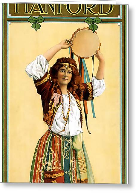 Entertainer Greeting Cards - Maritana Greeting Card by Terry Reynoldson