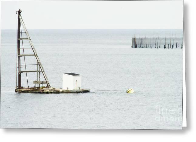 Sea Platform Greeting Cards - Maritime Dreams... Greeting Card by Nina Stavlund