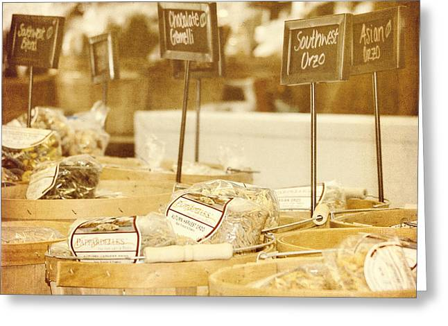Market Day Greeting Card by Kim Hojnacki