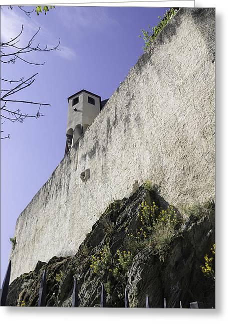 Wallflower Greeting Cards - Marksburg Castle 05 Greeting Card by Teresa Mucha