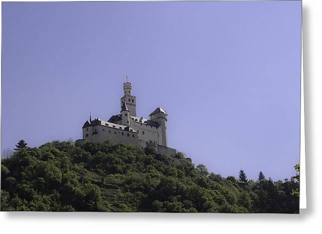 Wallflower Greeting Cards - Marksburg Castle 11 Greeting Card by Teresa Mucha