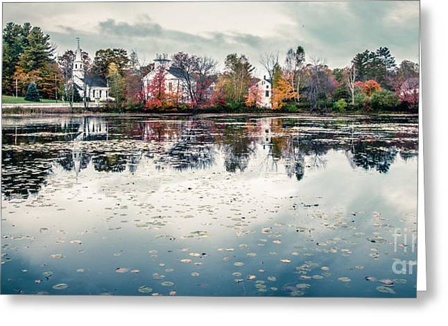 Small Towns Greeting Cards - Marlow New Hampshire  Greeting Card by Edward Fielding