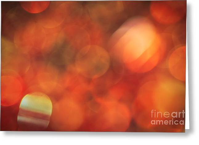 Vivid Colour Greeting Cards - Marmalade Greeting Card by Jan Bickerton