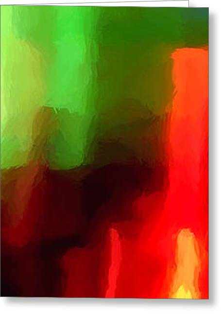 Abstract Forms Greeting Cards - Marquee Greeting Card by James Elmore