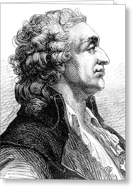 Marquis De Condorcet Greeting Card by Collection Abecasis