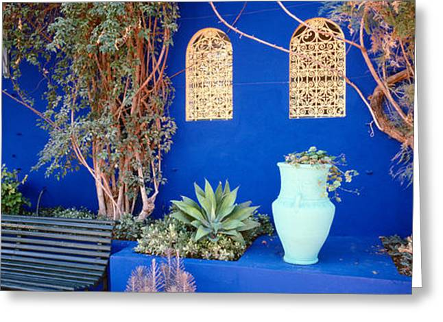 Marrakech Greeting Cards - Marrakech, Morocco Greeting Card by Panoramic Images