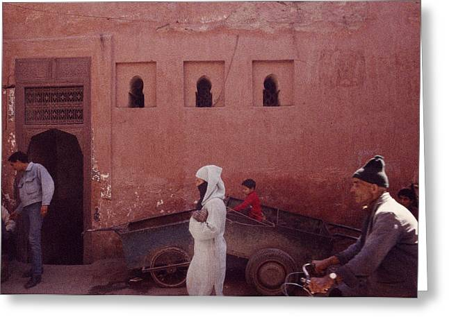 Conservative Greeting Cards - Marrakesh Life Greeting Card by Shaun Higson
