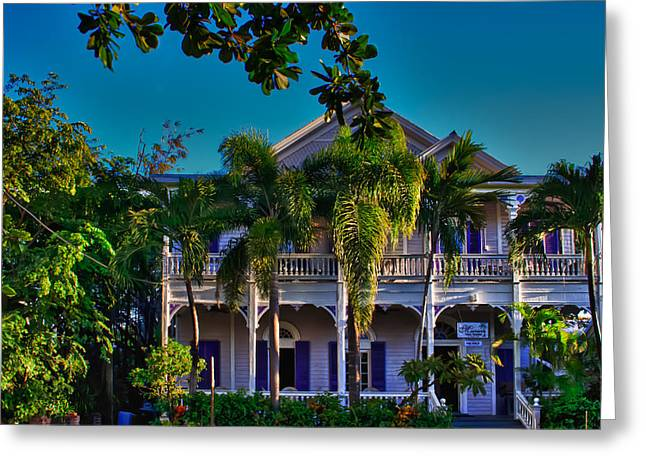 Florida Keys Greeting Cards - Marrero House Greeting Card by Vaughn Garner