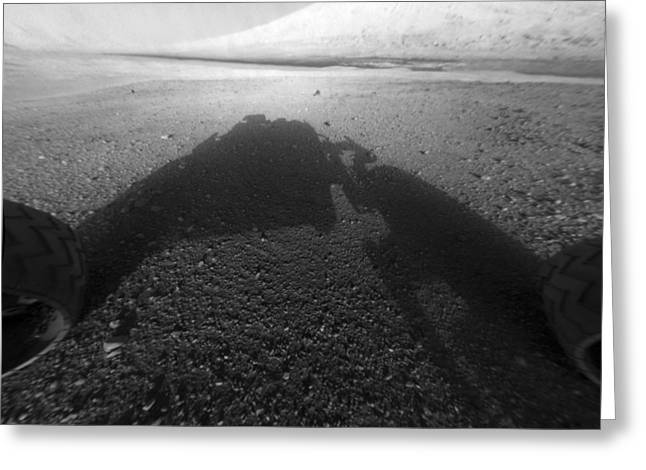 Curiosity Rover Greeting Cards - Mars from Curiosity Greeting Card by Science Photo Library