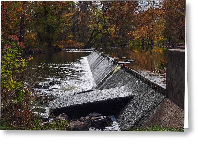 Marshes Digital Greeting Cards - Marsh Creek in Autumn - Gettysburg Pa Greeting Card by Bill Cannon