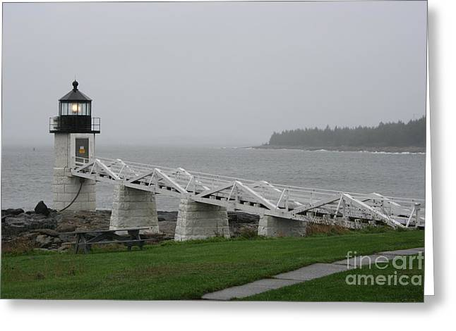 Christiane Schulze Greeting Cards - Marshall Point Light Station - Maine Greeting Card by Christiane Schulze Art And Photography