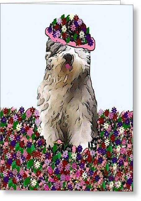 Oes Greeting Cards - Martha Greeting Card by Cathy Howard