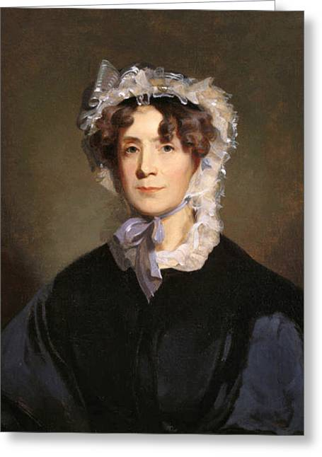 Martha Jefferson Randolph Greeting Card by Underwood Archives