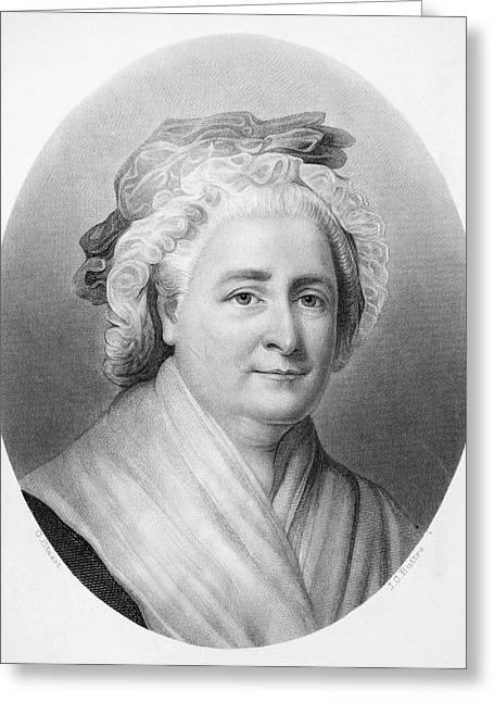 Martha Washington (1732-1802) Greeting Card by Granger