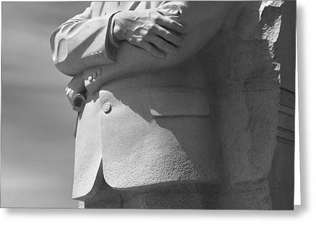 Martin Luther King Jr. Memorial - Washington D.C. Greeting Card by Mike McGlothlen