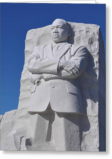 Equality Greeting Cards - Martin Luther King Memorial Greeting Card by Brandon Bourdages