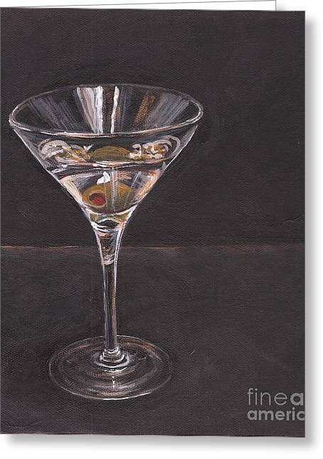 Gayle Utter Greeting Cards - Martini Greeting Card by Gayle Utter