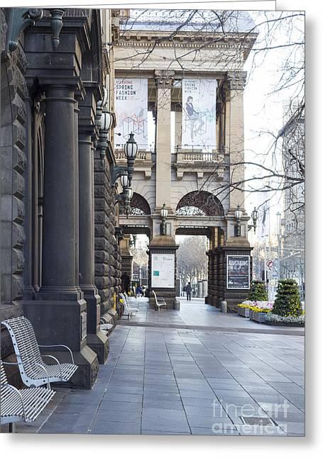 Melbourne - Australia Greeting Cards - Marvellous Melbourne 3 Greeting Card by Linda Lees