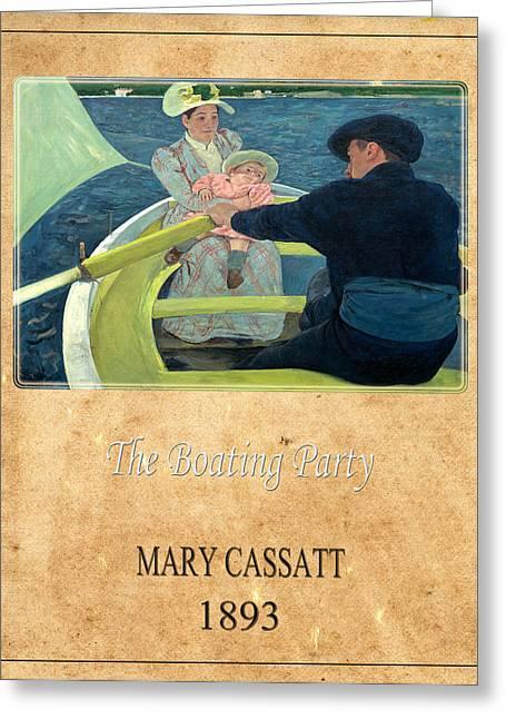 Cassatt Photographs Greeting Cards - Mary Cassatt 1 Greeting Card by Andrew Fare