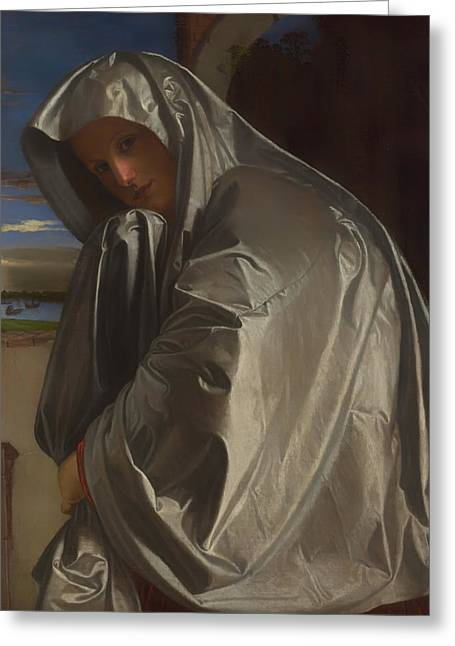 Religious work Paintings Greeting Cards - Mary Magdalene Greeting Card by Giovani Savoldo