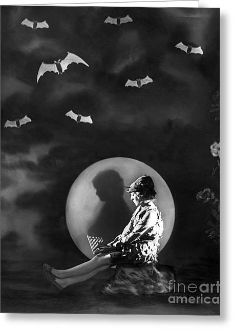 Movie Greeting Cards - Mary Pickford - Peter Pan Greeting Card by MMG Archives