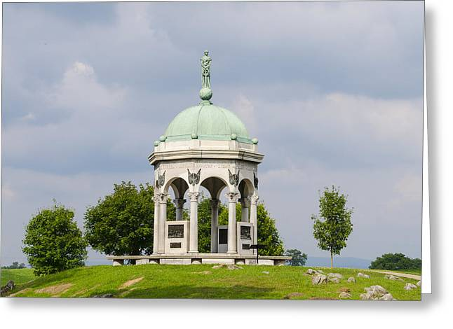 Maryland Monument - Antietam National Battlefield Greeting Card by Bill Cannon