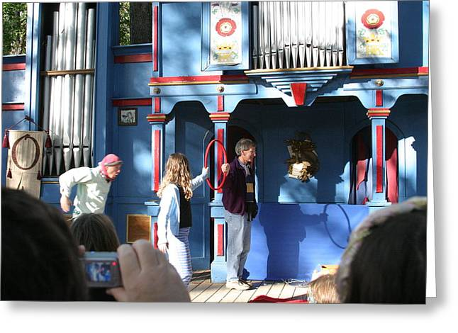 Maryland Renaissance Festival - A Fool Named O - 121214 Greeting Card by DC Photographer