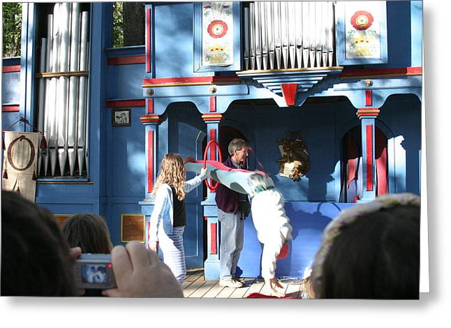 Rennfest Greeting Cards - Maryland Renaissance Festival - A Fool Named O - 121216 Greeting Card by DC Photographer