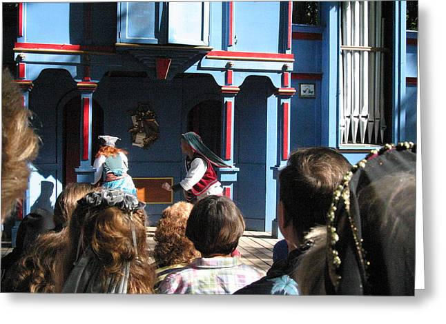 Maryland Renaissance Festival - A Fool Named O - 121221 Greeting Card by DC Photographer