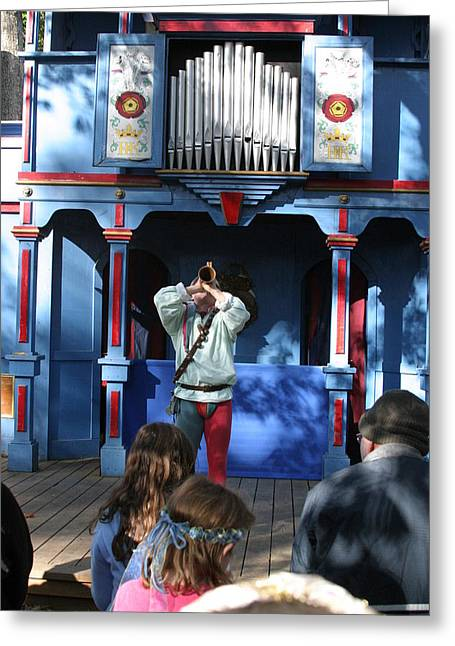 Maryland Renaissance Festival - A Fool Named O - 12124 Greeting Card by DC Photographer