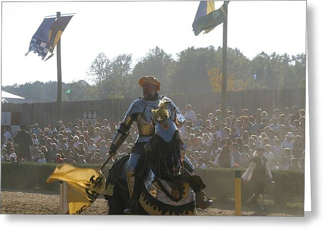 Festival Greeting Cards - Maryland Renaissance Festival - Jousting and Sword Fighting - 1212136 Greeting Card by DC Photographer
