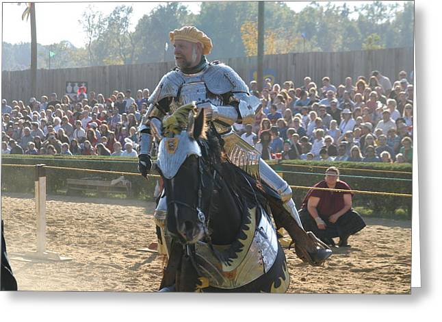 Actor Greeting Cards - Maryland Renaissance Festival - Jousting and Sword Fighting - 1212165 Greeting Card by DC Photographer