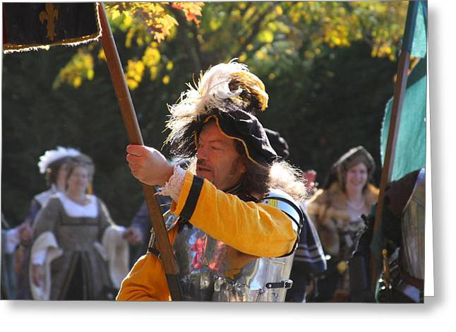 Start Greeting Cards - Maryland Renaissance Festival - Kings Entrance - 12122 Greeting Card by DC Photographer