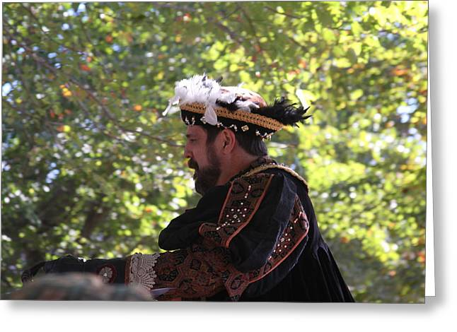 Old Photographs Greeting Cards - Maryland Renaissance Festival - Kings Entrance - 12127 Greeting Card by DC Photographer