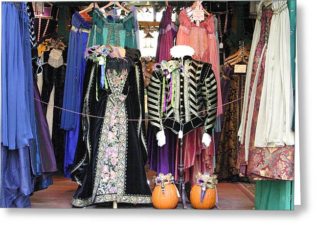 English Greeting Cards - Maryland Renaissance Festival - Merchants - 121219 Greeting Card by DC Photographer