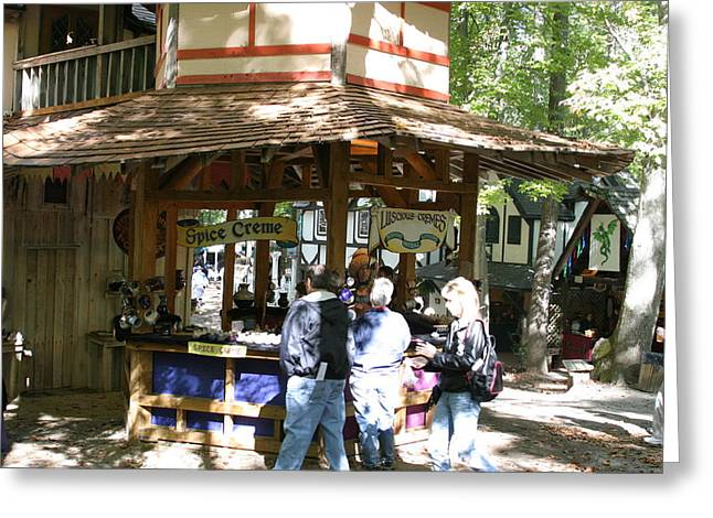 Festival Greeting Cards - Maryland Renaissance Festival - Merchants - 121222 Greeting Card by DC Photographer