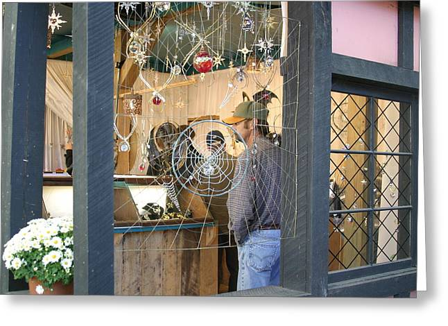 Rennfest Greeting Cards - Maryland Renaissance Festival - Merchants - 121229 Greeting Card by DC Photographer