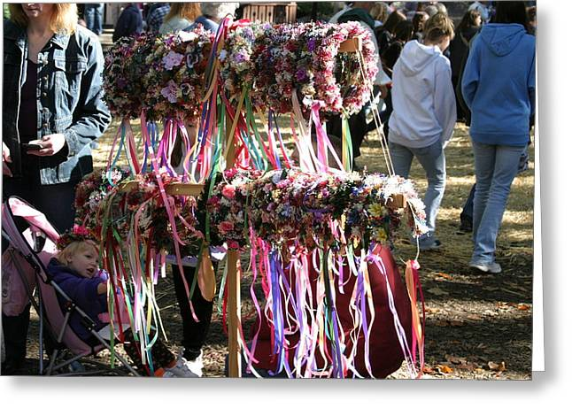 Maryland Renaissance Festival - Merchants - 12124 Greeting Card by DC Photographer