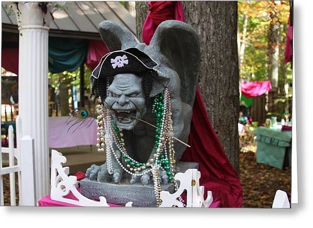 Booth Greeting Cards - Maryland Renaissance Festival - Merchants - 121240 Greeting Card by DC Photographer