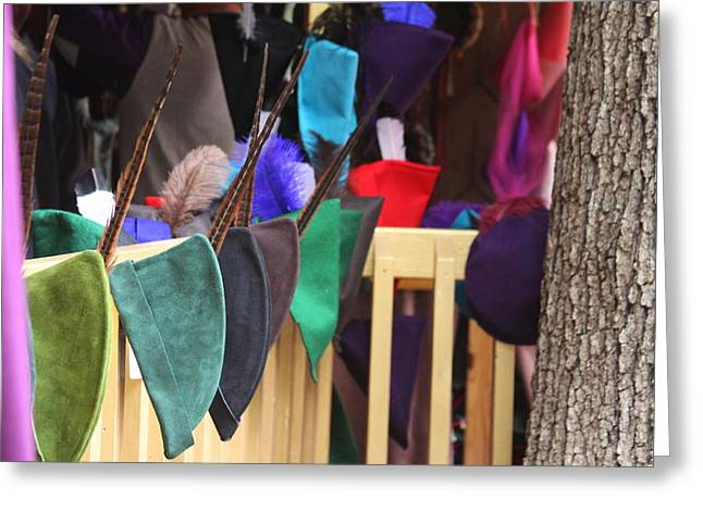 Rennfest Greeting Cards - Maryland Renaissance Festival - Merchants - 121246 Greeting Card by DC Photographer