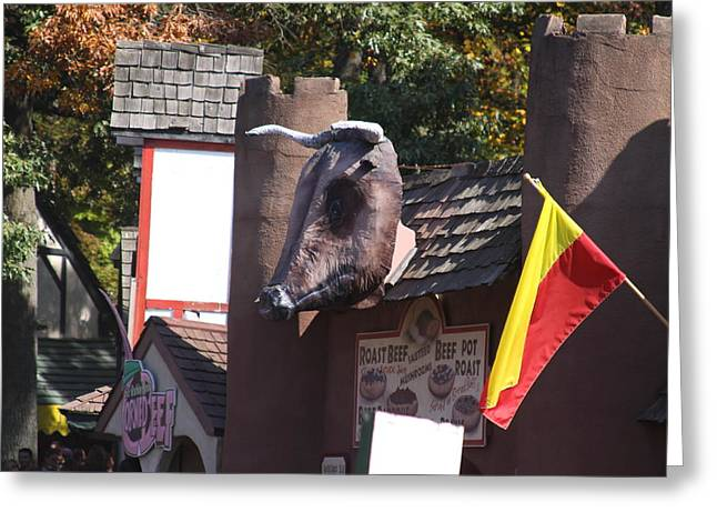 Maryland Renaissance Festival - Merchants - 121251 Greeting Card by DC Photographer